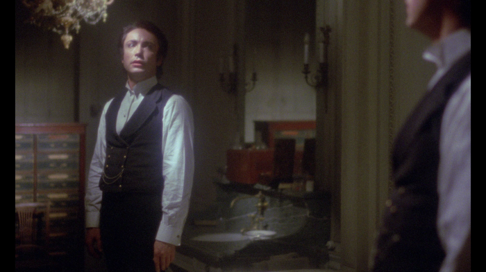 Udo Kier in The Strange Case of Dr. Jekyll & Miss Osbourne (1980)